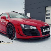 Prior Design Audi R8 Winter Photoshoot 8 175x175 at Gallery: Prior Design Audi R8 Winter Photoshoot
