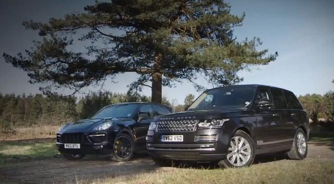 Luxury Suv Test 2013 Range Rover Vs Porsche Cayenne