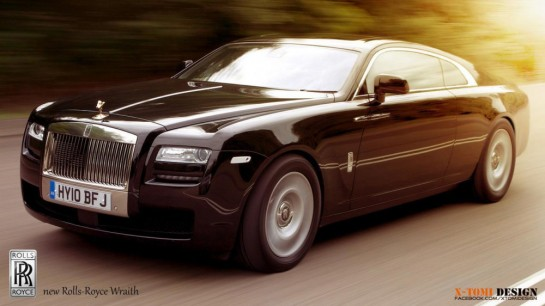 Rolls Royce Wraith render1 545x306 at Rendering: Rolls Royce Wraith