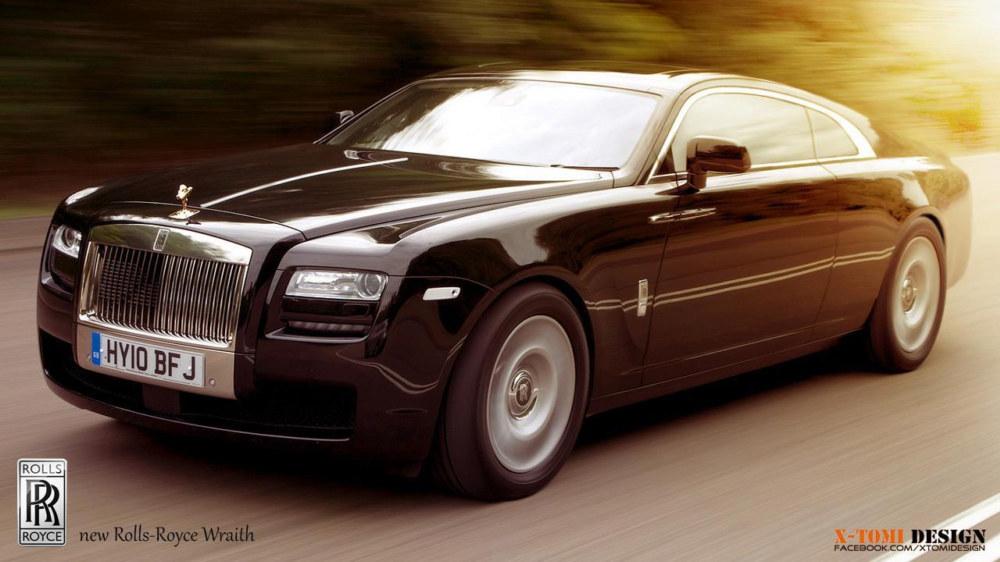 Rendering: Rolls-Royce Wraith - Motorward