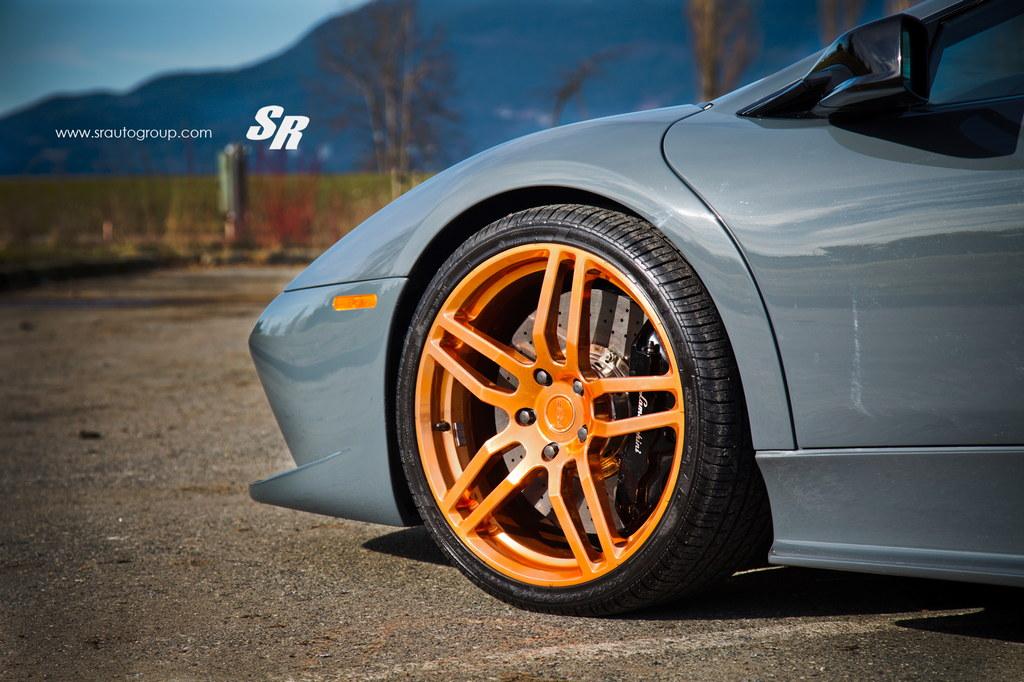 Gallery Lamborghini Murcielago On Rose Gold Pur Wheels