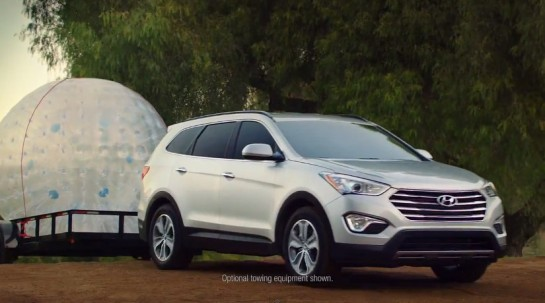 Santa Fe Playdate ad 545x303 at Hyundai Santa Fe Epic Playdate Commercial