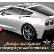 Stingray C6 rear end 175x175 at Rendering: Rolls Royce Wraith