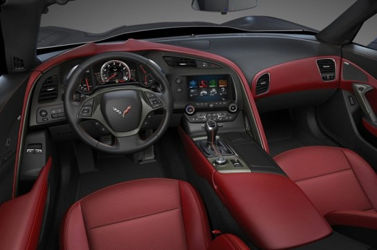 Stingray interior 545x362 at 2014 Corvette Stingray Interior Design Explained