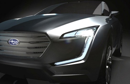 Subaru VIZIV concept 545x353 at Geneva Preview: Subaru VIZIV Concept