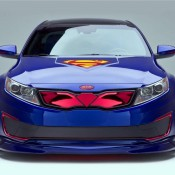 Superman themed Kia Optima 1 175x175 at 2013 Kia Pro Ceed UK Prices and Specs
