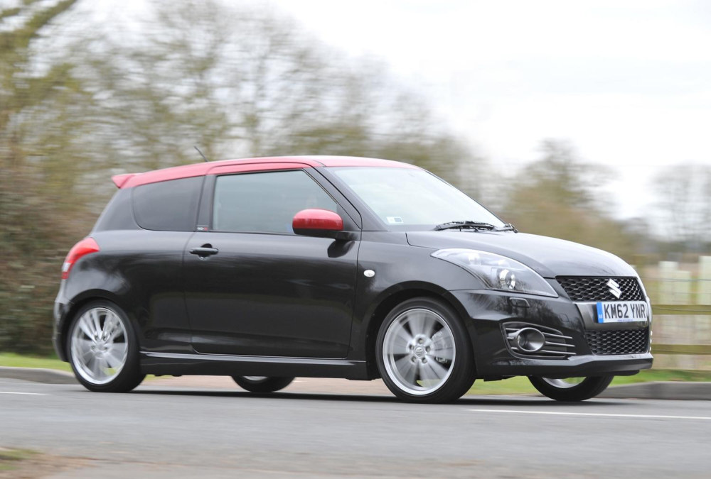 Suzuki Swift Sport SZ R at Suzuki Swift Sport SZ R Priced at £14,249