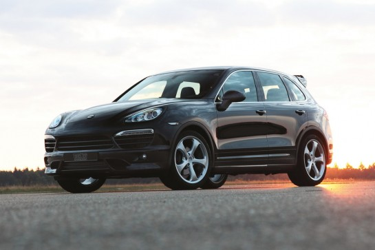 TECHART Aerokit I 05 545x363 at TECHART Kit for Porsche Cayenne S Diesel