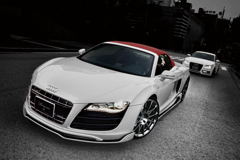 Audi R8 White Wolf Edition By Tommy Kaira