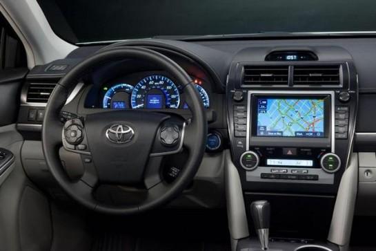 Toyota Camry Int 2 545x363 at Interior Enhancmenets for 2013 Toyota Camry