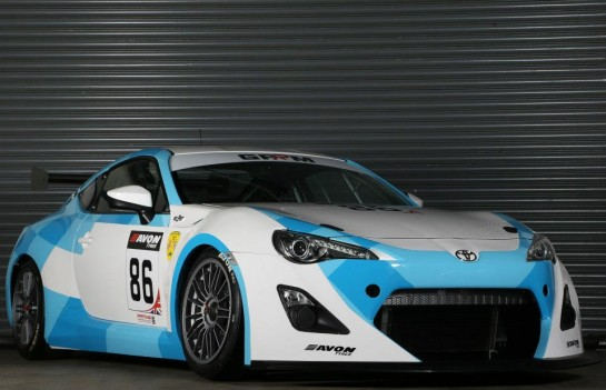Toyota GT86 GT4 Racer 1 545x351 at Official: Toyota GT86 GT4 Racer