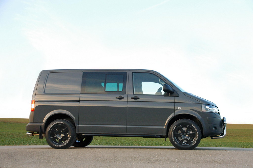 Vw Transporter T5 By Delta4x4