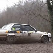 Wye Dean Forest Rally in BMW 325i 175x175 at Citroen Celebrates WRC Success with Unique Diorama