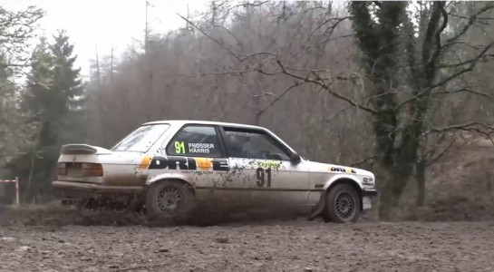 Wye Dean Forest Rally in BMW 325i 545x300 at Chris Harris Video: Wye Dean Forest Rally in BMW 325i