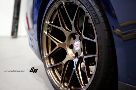 nissan gtr hre 5 545x362 at Gallery: SR Auto Nissan GT R on HRE Wheels
