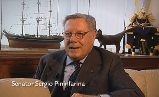 sergio pininfarina interview 545x334 at From The Archives: Interview with Sergio Pininfarina