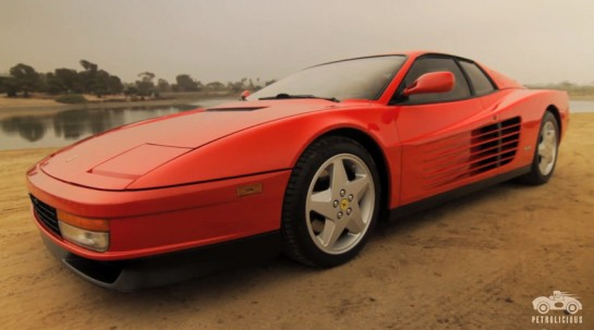 testarossa tribute 545x303 at Petrolicious Video: Ferrari Testarossa Tribute