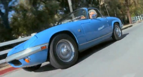 1969 Lotus Elan 545x293 at Video: The Story of Jay Lenos 1969 Lotus Elan