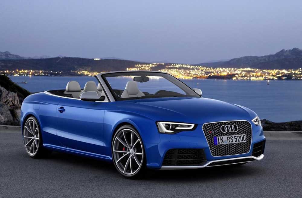 2013 Audi Rs5 Cabriolet U S Pricing Announced