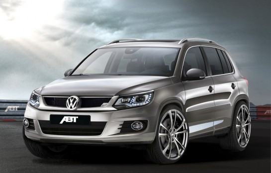 2013 VW Tiguan by ABT  545x348 at 2013 VW Tiguan by ABT