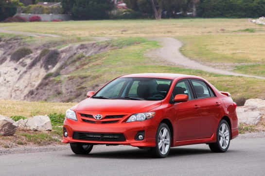 2013 Toyota Corolla S Special 001 545x363 at 2013 Toyota Corolla LE and S Special Editions