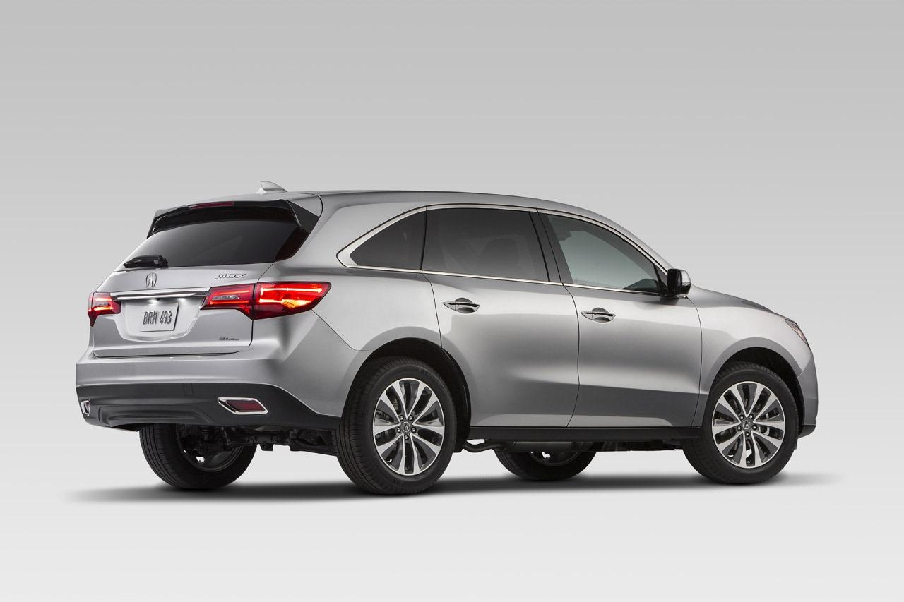 2014 acura mdx unveiled at nyas. Black Bedroom Furniture Sets. Home Design Ideas