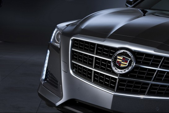 2014 Cadillac CTS 1 545x364 at 2014 Cadillac CTS First Official Pictures