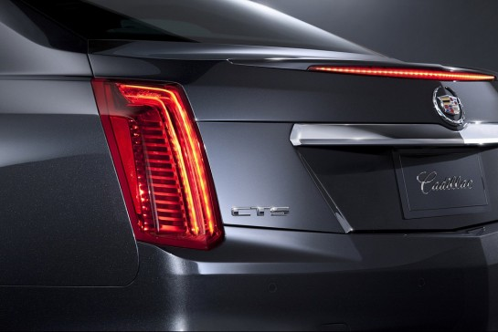2014 Cadillac CTS 5 545x364 at 2014 Cadillac CTS First Official Pictures