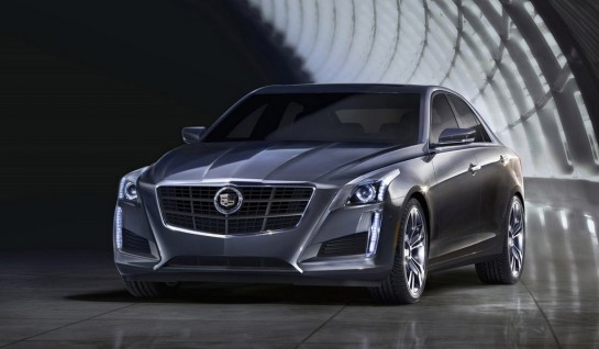 2014 Cadillac CTS new 1 545x318 at 2014 Cadillac CTS Revealed   New Leaked Images