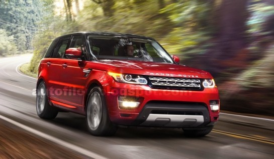 2014 range rover sport new 1 545x317 at 2014 Range Rover Sport   New Pictures Leaked
