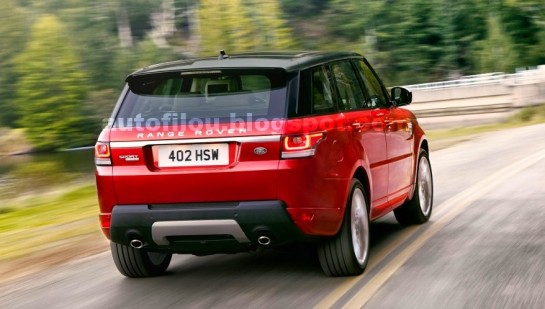 2014 range rover sport new 2 545x309 at 2014 Range Rover Sport   New Pictures Leaked
