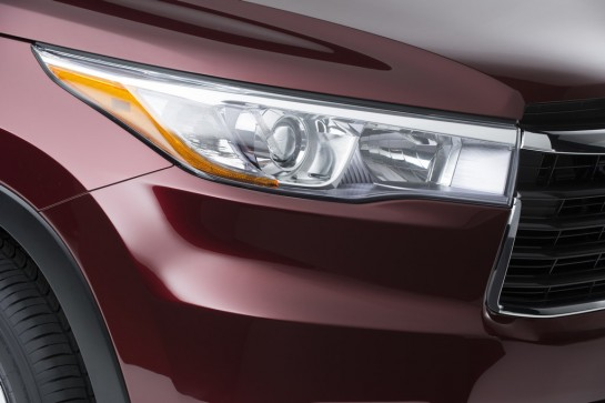 2014 Toyota Highlander Teased For NY Auto Show