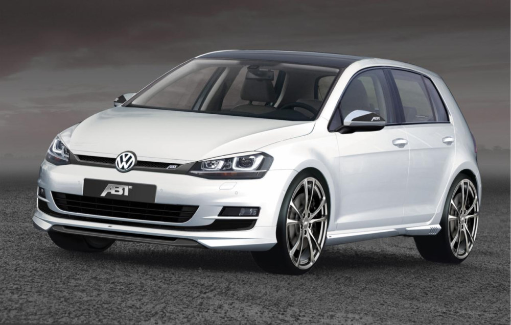 geneva preview abt volkswagen golf mk7. Black Bedroom Furniture Sets. Home Design Ideas