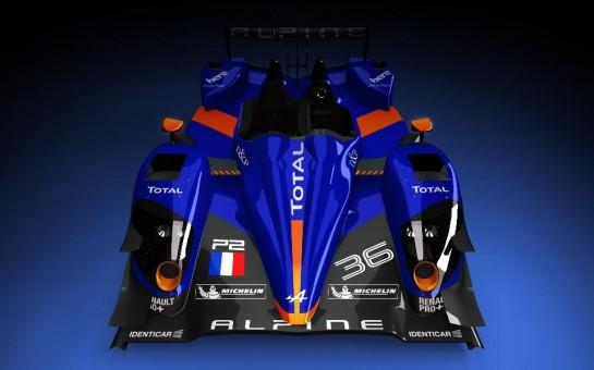 Alpine Le Mans Racer 1 545x340 at Alpine Le Mans Racer Unveiled