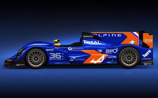 Alpine Le Mans Racer 2 545x340 at Alpine Le Mans Racer Unveiled