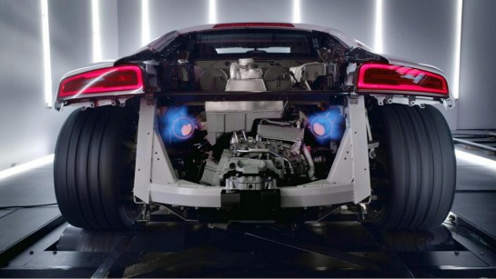 Audi R8 V10 Plus 1 545x307 at Audi R8 V10 Plus Gets Interactive Promo Video