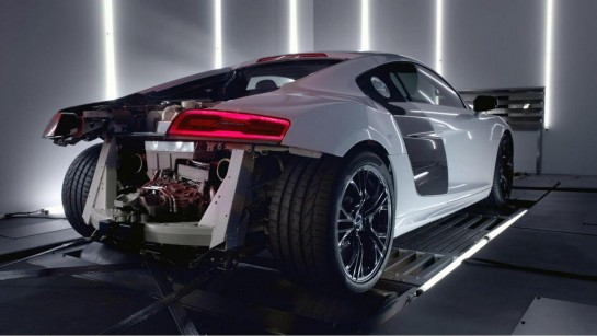 Audi R8 V10 Plus 2 545x307 at Audi R8 V10 Plus Gets Interactive Promo Video