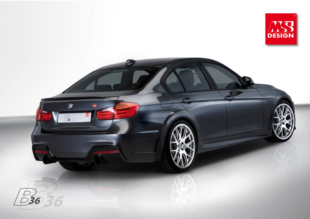 Geneva Preview Ms Design Bmw 335i B36