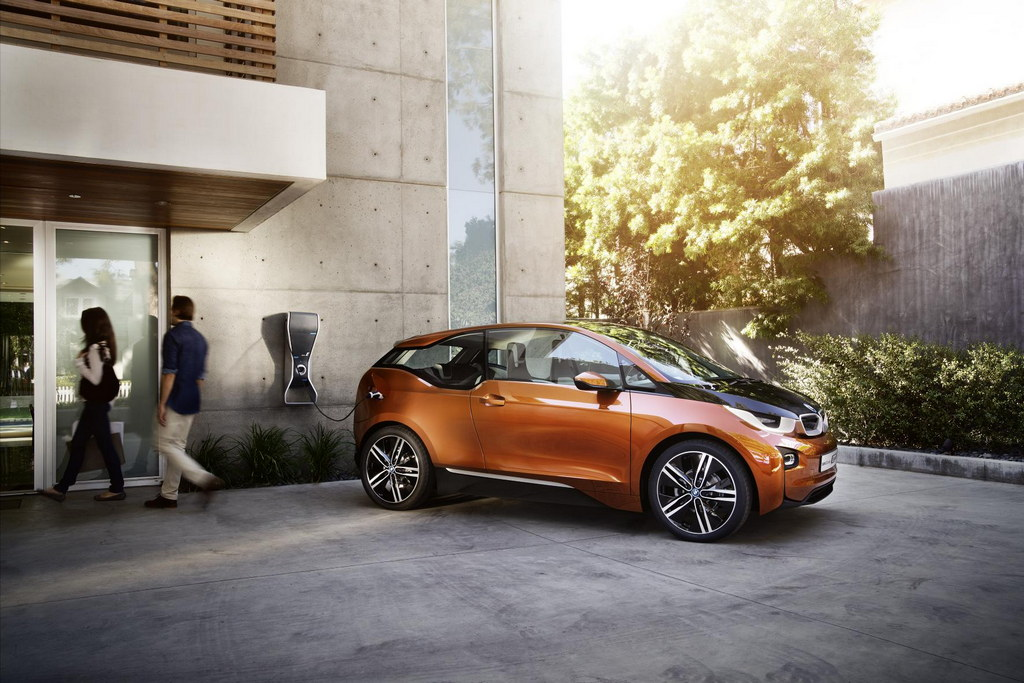BMW's i3 Unveiled in Europe after a successful trial in America.