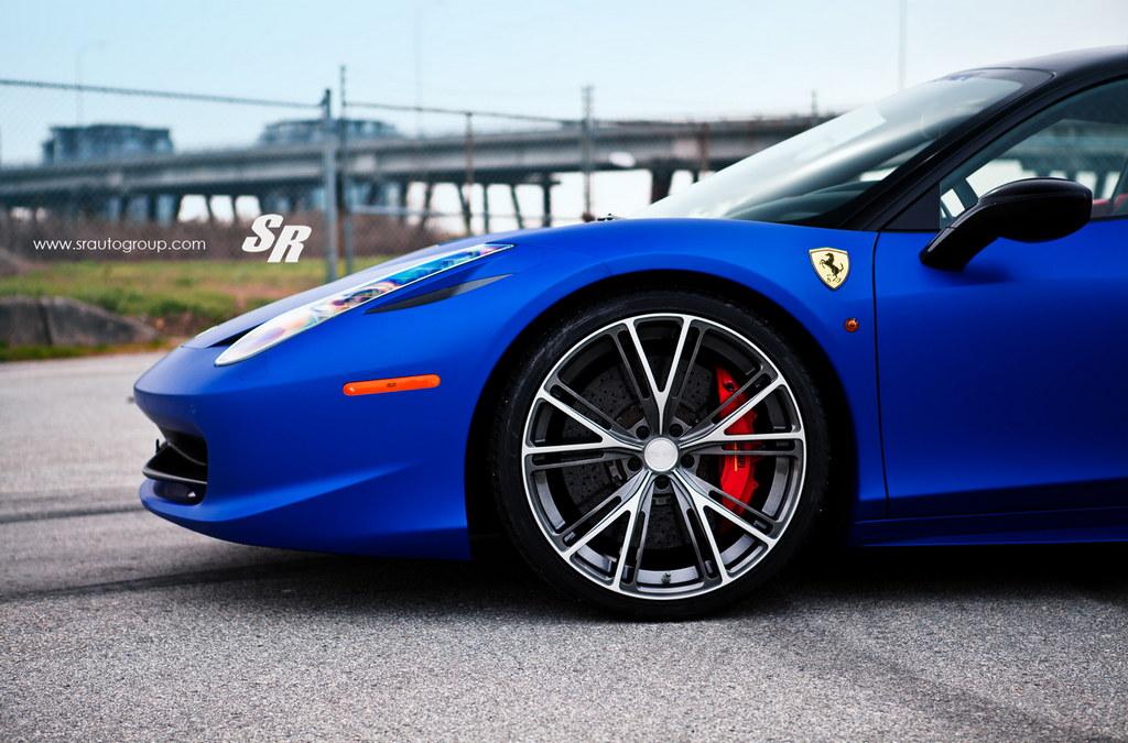 blue ferrari 458 italia on pur 5 175x175 at gallery blue ferrari 458 italia on - Ferrari 458 Italia Blue