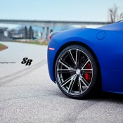 Blue Ferrari 458 Italia on PUR 7 175x175 at Gallery: Blue Ferrari 458 Italia on PUR Wheels
