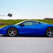 Blue Ferrari 458 Italia on PUR 8 175x175 at Gallery: Blue Ferrari 458 Italia on PUR Wheels