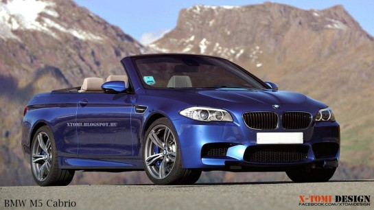 Bmw M5 Cabrio 545x306 at Rendering: BMW M5 Cabrio by X Tomi Design