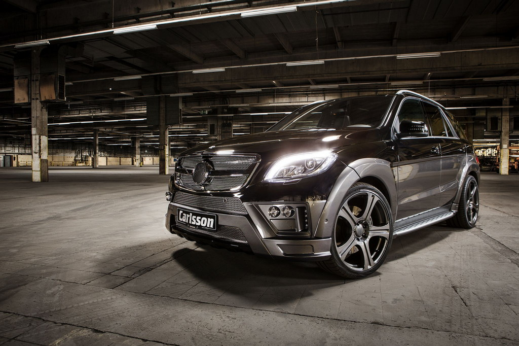 Geneva preview carlsson mercedes ml royale revox for Mercedes benz royale