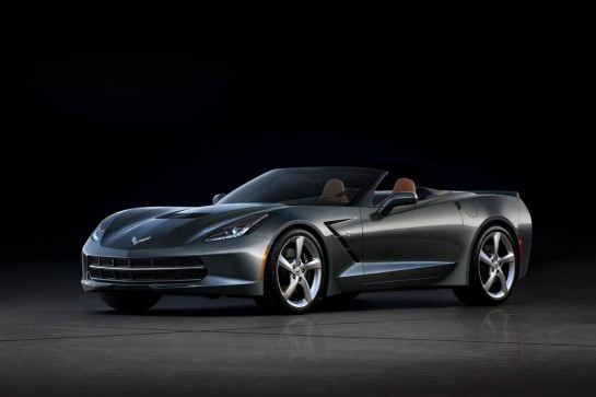 Corvette Stingray Convertible 1 545x363 at Geneva Preview: Corvette Stingray Convertible