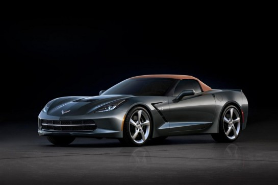Corvette Stingray Convertible 2 545x362 at Geneva Preview: Corvette Stingray Convertible