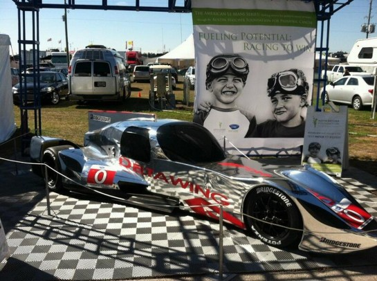 DeltaWing Coupe 1 545x406 at DeltaWing Coupe Revealed Ahead of Sebring Debut