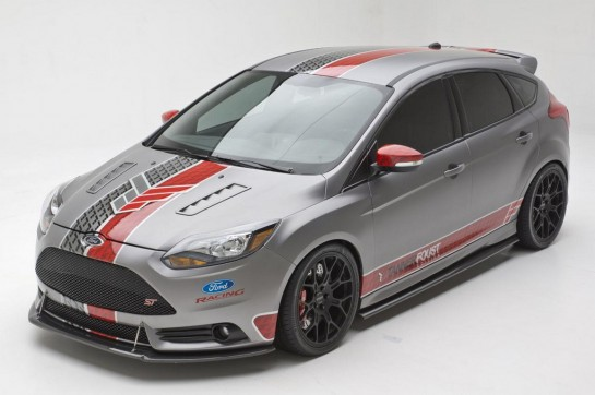 Ford Focus ST Tanner Foust Edition 1 545x362 at Cobb Tuning Ford Focus ST Tanner Foust Edition