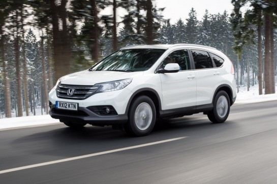 Honda CR V LE 545x363 at Low emission Honda CR V launches in the UK