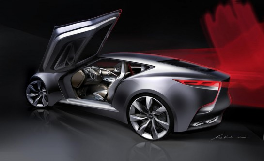 Hyundai HND 9 2 545x334 at Hyundai HND 9: 2015 Genesis Coupe Preview